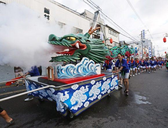 水俣市旭町・   恋龍祭②